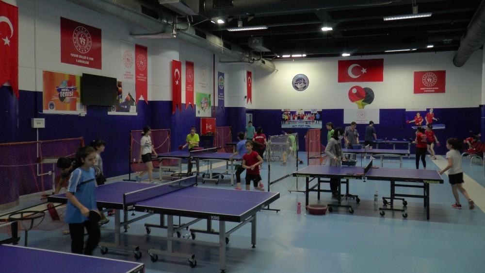 (Özel haber)Kayserili masa tenisçisi olimpiyatlara giden ilk Türk uyruklu masa tenisi sporcusu olmayı hedefliyor