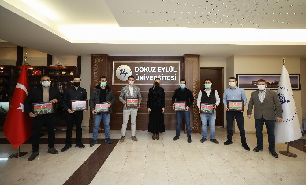 Rektör Hotar, Azerbaycan'a destek veren kahraman doktorları ağırladı
