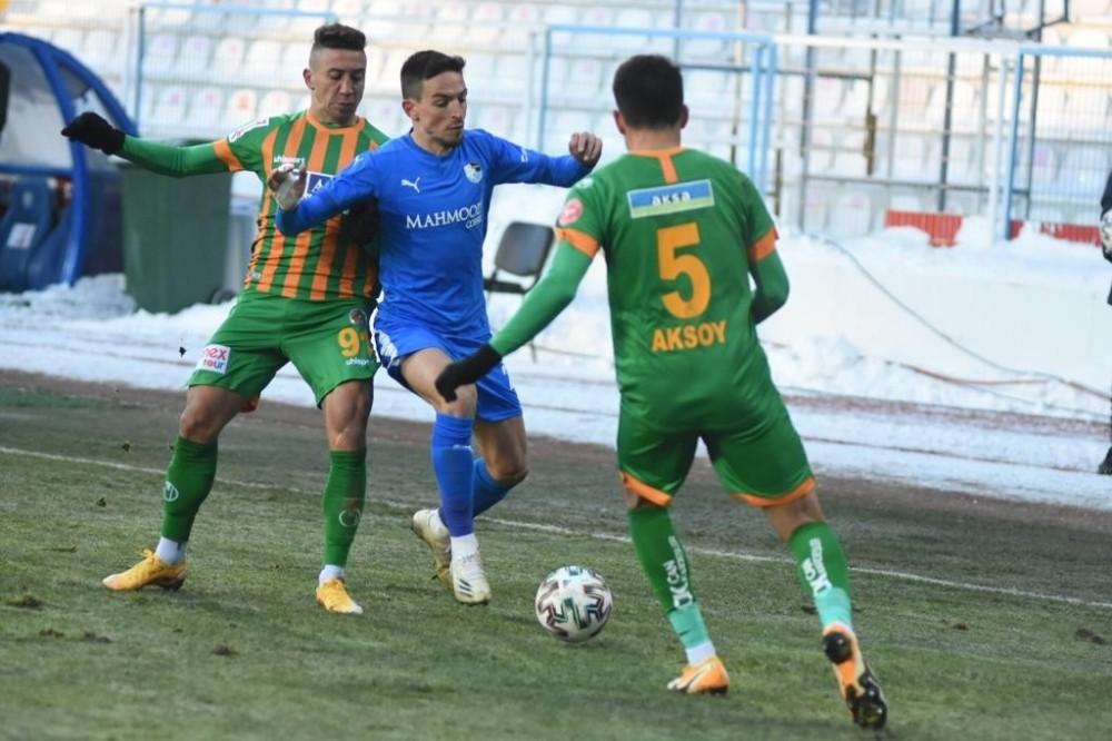 Süper Lig: BB Erzurumspor: 1 – Alanyaspor: 1 (Maç sonucu)