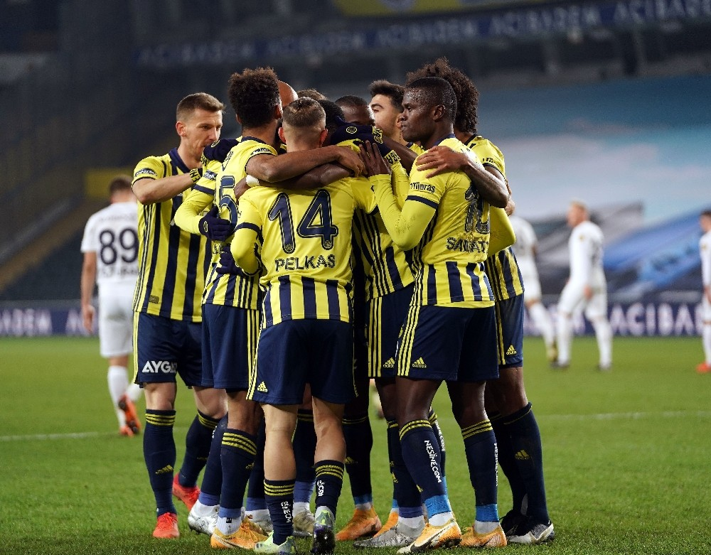 Süper Lig: Fenerbahçe: 2 – Ankaragücü: 0  (İlk yarı)