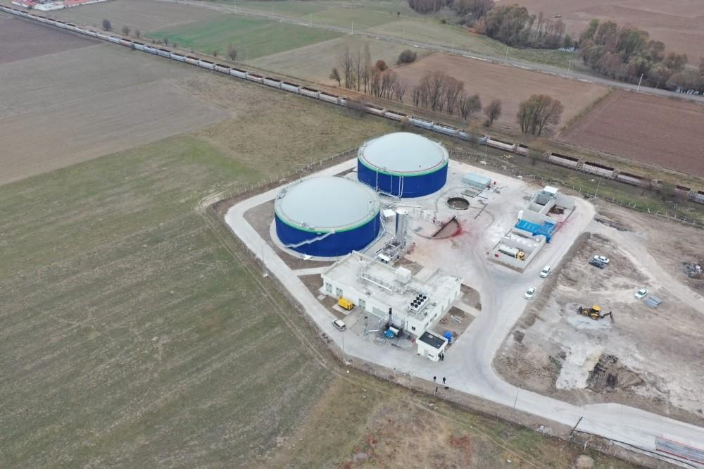 7 milyon Euro yatırımla biyogaz tesisi kuruldu: Hayvan gübresinden elektrik üretiliyor