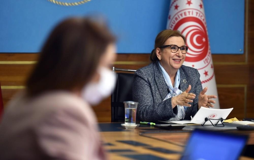 """Bakan Pekcan: """"Türkiye-AB ilişkilerinde oluşturulacak pozitif gündemin kilit unsurlarından biri Gümrük Birliği'nin güncellenmesidir"""""""