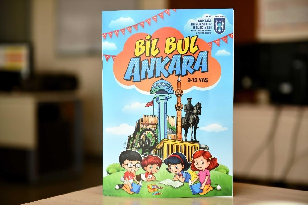 Başkentli çocuklar Ankara'yı kitaplarla öğrenecek