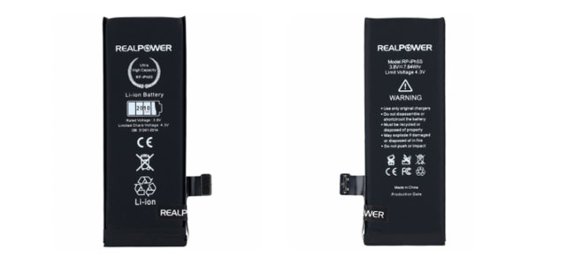 Ucuz İphone 5S Batarya Fiyatı RealPower'da!