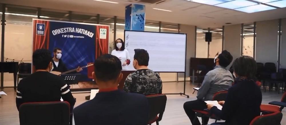 Büyükşehir Belediyesi Orkestrası'ndan türkülü korona mesajı