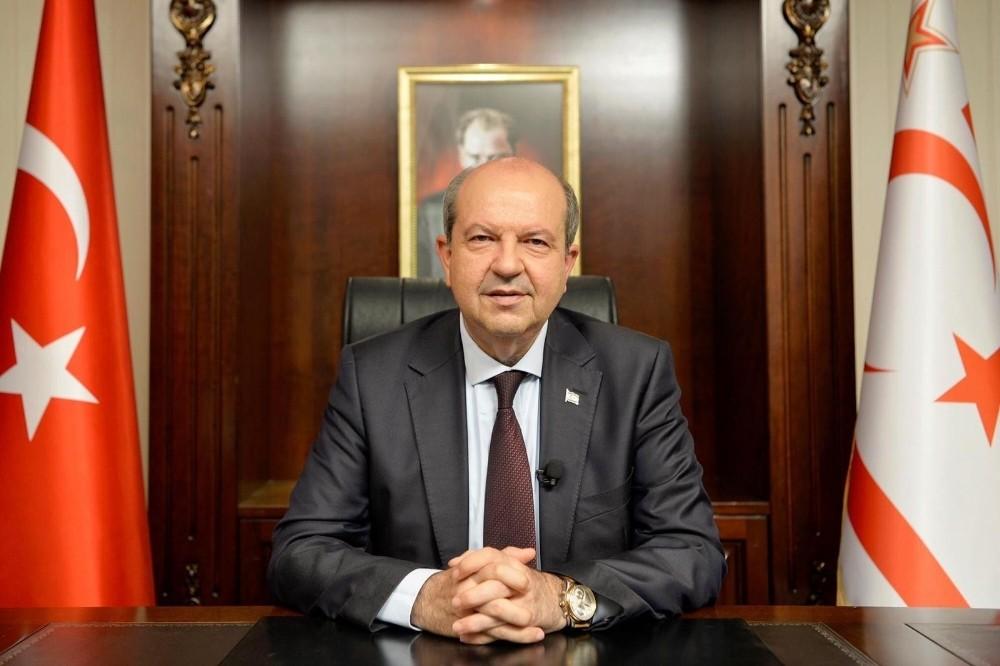 """KKTC Cumhurbaşkanı Tatar: """"Anavatan Türkiye'nin garantörlüğünden ve Türk askerinden kesinlikle vazgeçmeyeceğiz"""""""