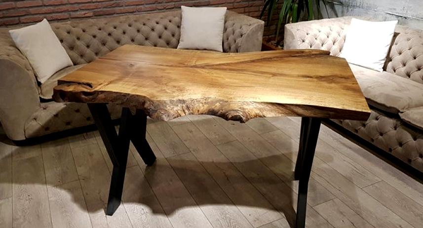 Kütük Masa Fiyatları ve Ağaç Masa Modelleri