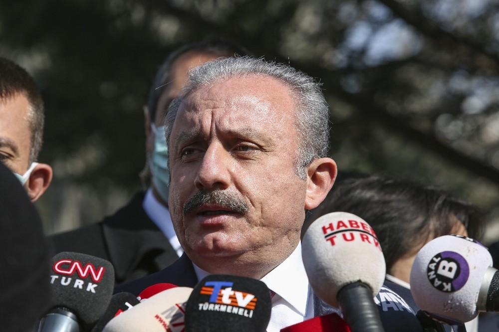"""TBMM Başkanı Şentop:""""Milletvekili ağır cezalık suç işlerken yakalandığı zaman dokunulmazlık işlemez"""""""