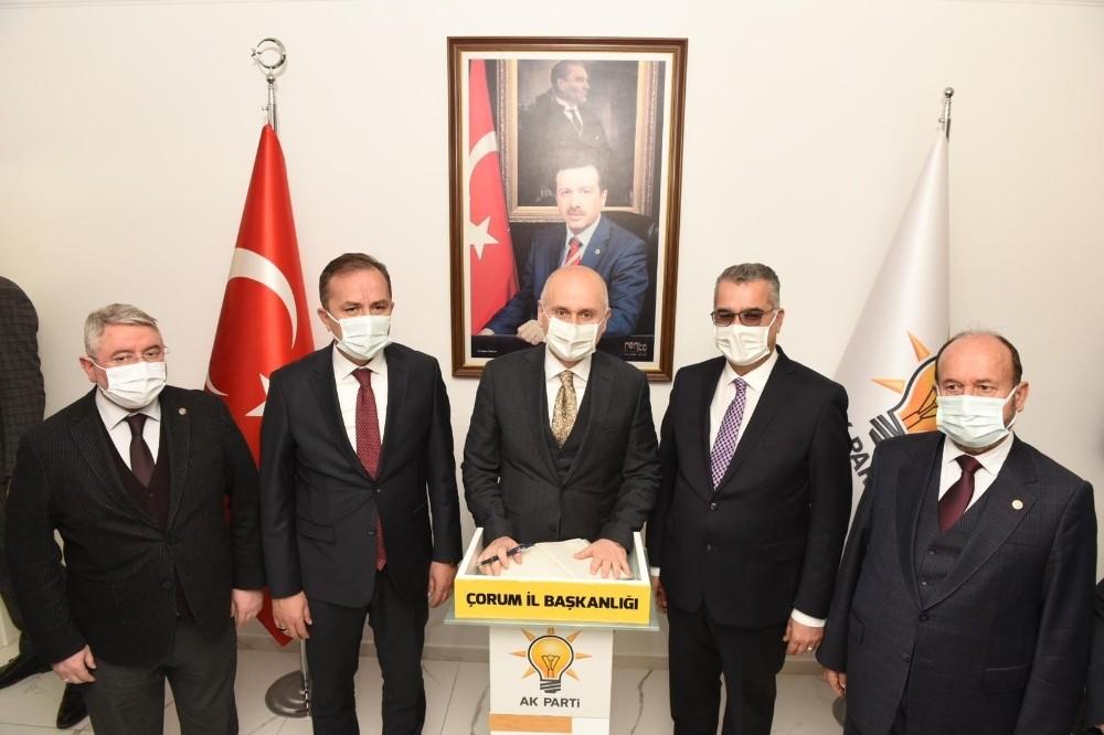 """Ulaştırma ve Altyapı Bakanı Karaismailoğlu: """"Ömrümüzü halkımıza vakfettik, hedeflerimize ulaşana kadar uykuyu kendimize haram ettik"""""""