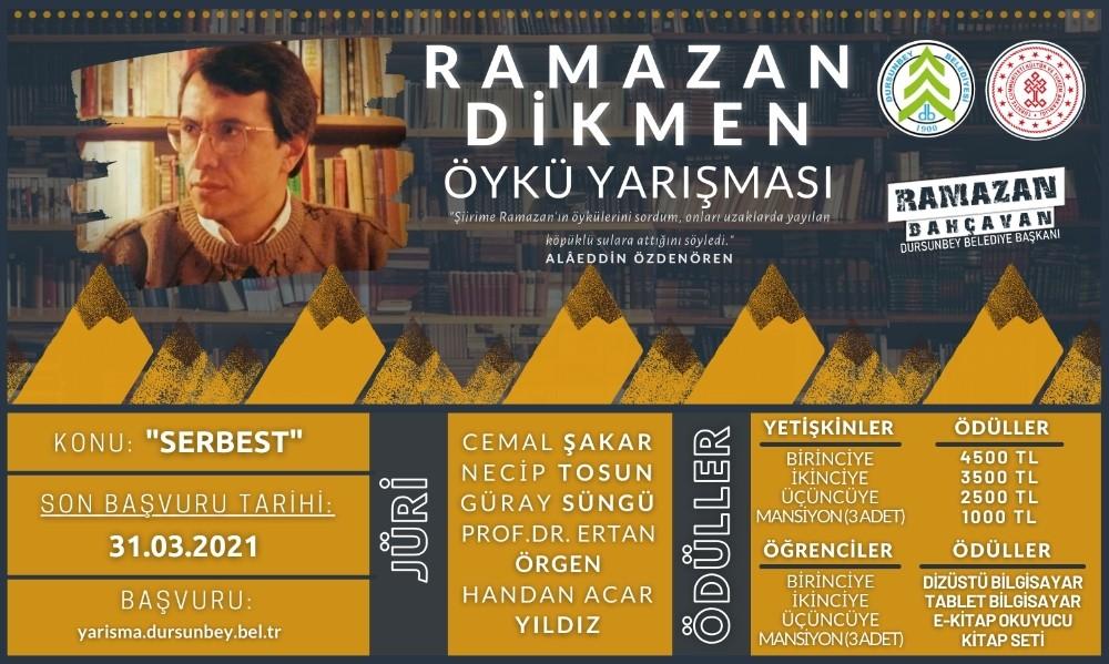 Yazar Ramazan Dikmen adına öykü yarışması düzenlendi