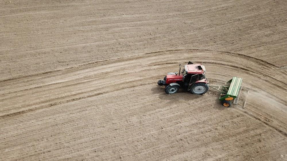 Atıl tarım arazileri üretime kazandırılıyor: 160 kilogram tohumdan 13 ton çörekotu elde edilecek