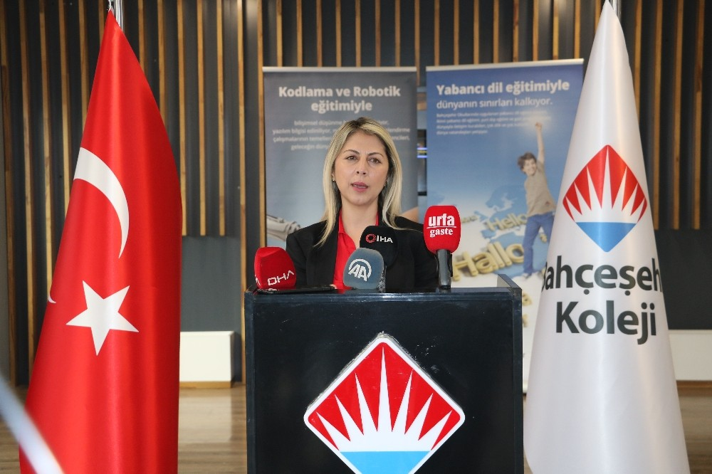 Bahçeşehir Koleji Genel Müdürü Özlem Dağ Şanlıurfa'da eğitim sürecini değerlendirdi