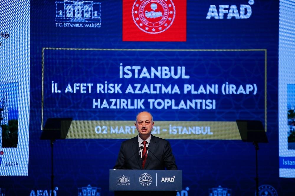 'İstanbul İl Afet Risk Azaltma Planı' hazırlık toplantısı düzenlendi