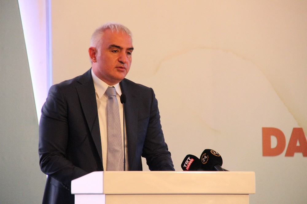 """Kültür ve Turizm Bakanı Ersoy: """"Dünya bilgi üzerinden dizayn ediliyor"""""""
