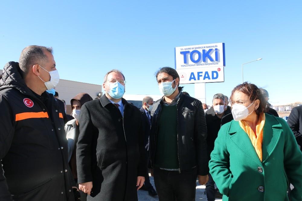 TBMM Deprem Araştırma Komisyonu Elazığ'da saha incelemesini tamamladı
