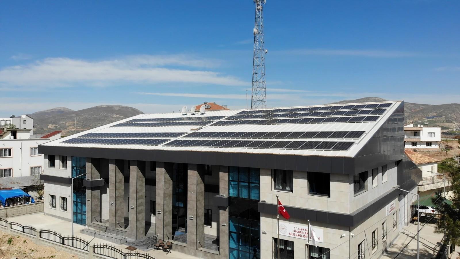 Adıyaman'da sağlık tesisleri kendi elektriğini üretiyor