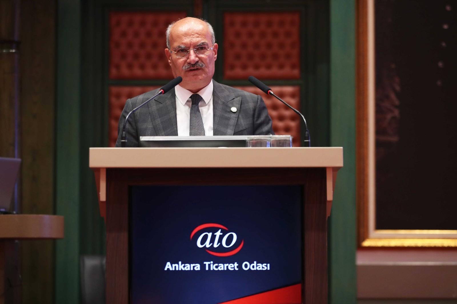 """ATO Başkanı Baran: """"Kurumlar vergisindeki artış yatırım iklimini bozar"""""""