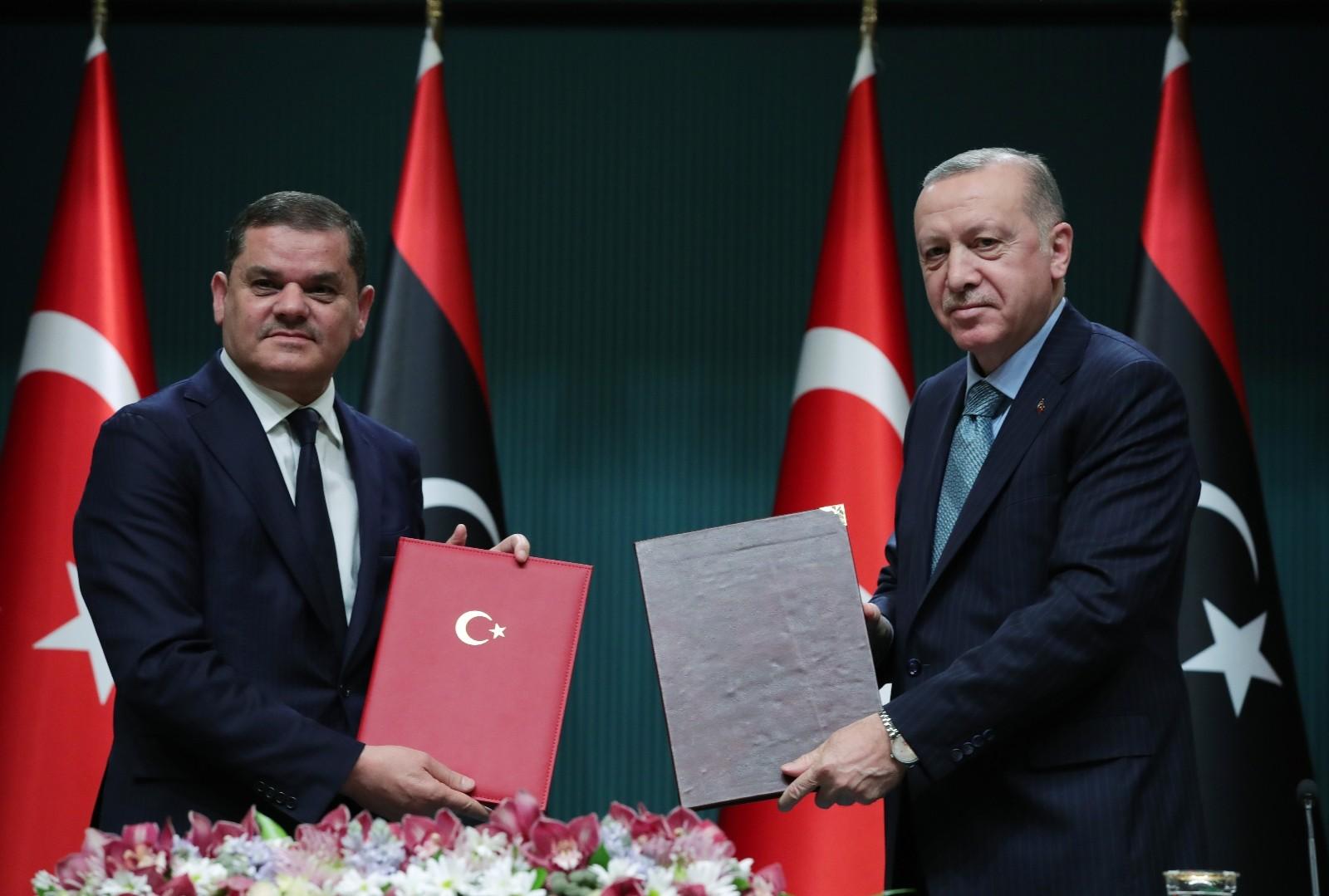 """Cumhurbaşkanı Erdoğan: """"Libya'da hak, adalet ve meşruiyet yerine darbenin ve darbecilerin yanında saf tutanlar bu katliamlara ortak olmuşlardır"""""""