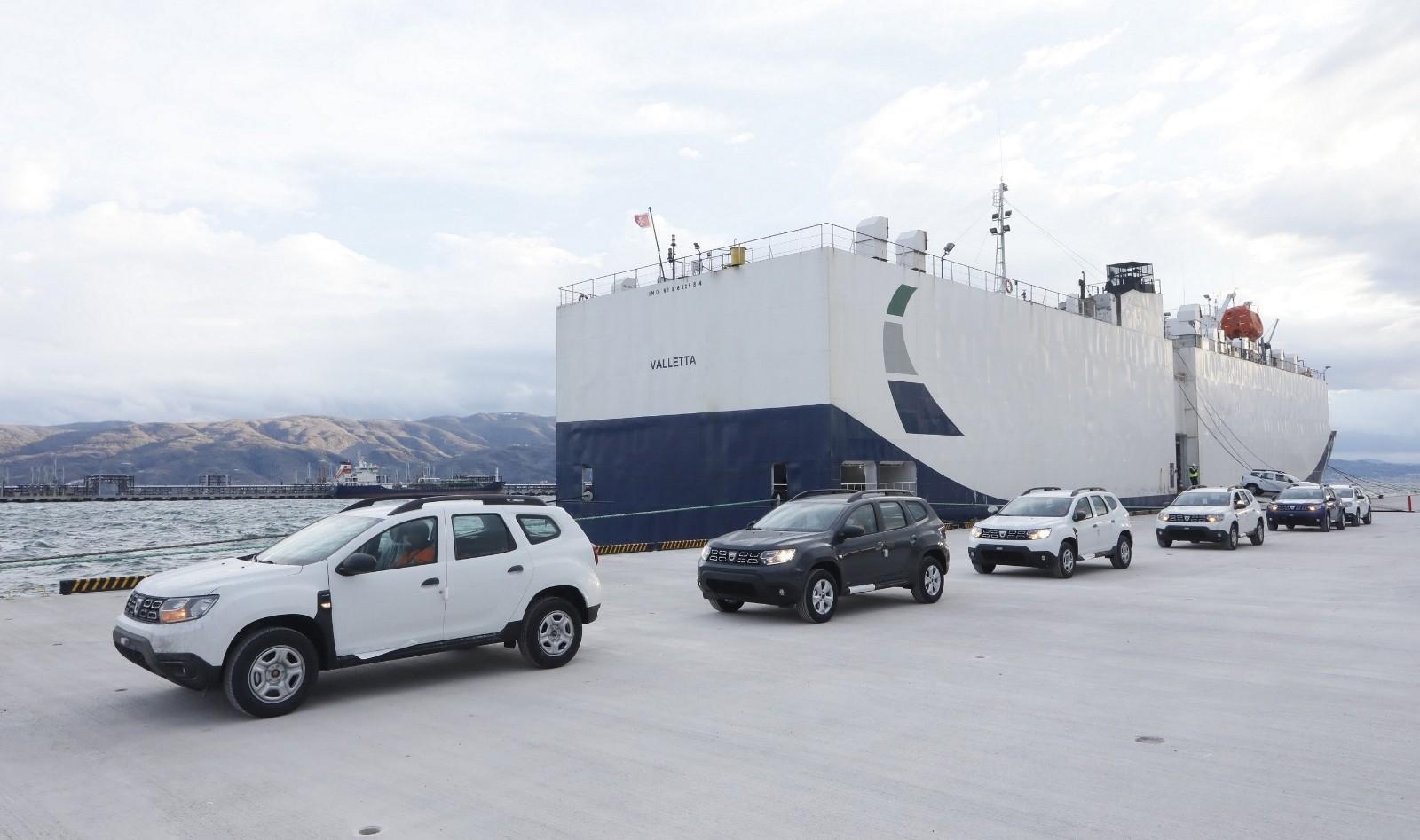 OYAK'ın otomotiv odaklı Ro-Ro limanına ilk sefer