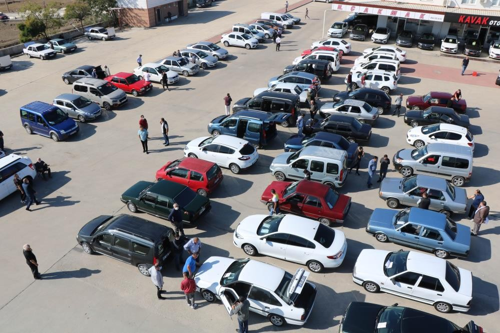 Samsun'da motorlu kara taşıtlarının sayısı 1 yılda 20 bin arttı