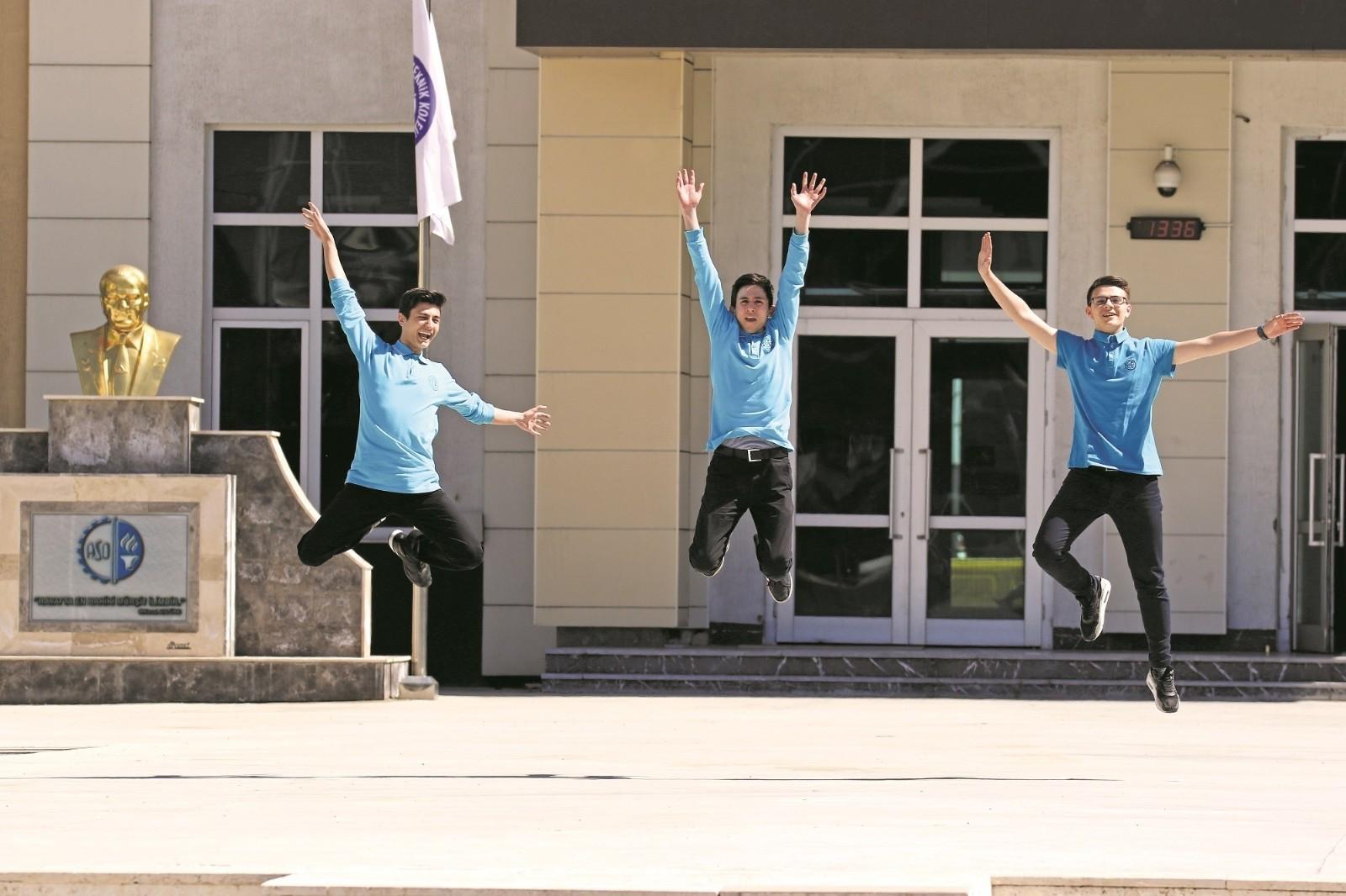 TÜBİTAK yarışmasında Ankara'yı ASO Teknik Koleji temsil edecek