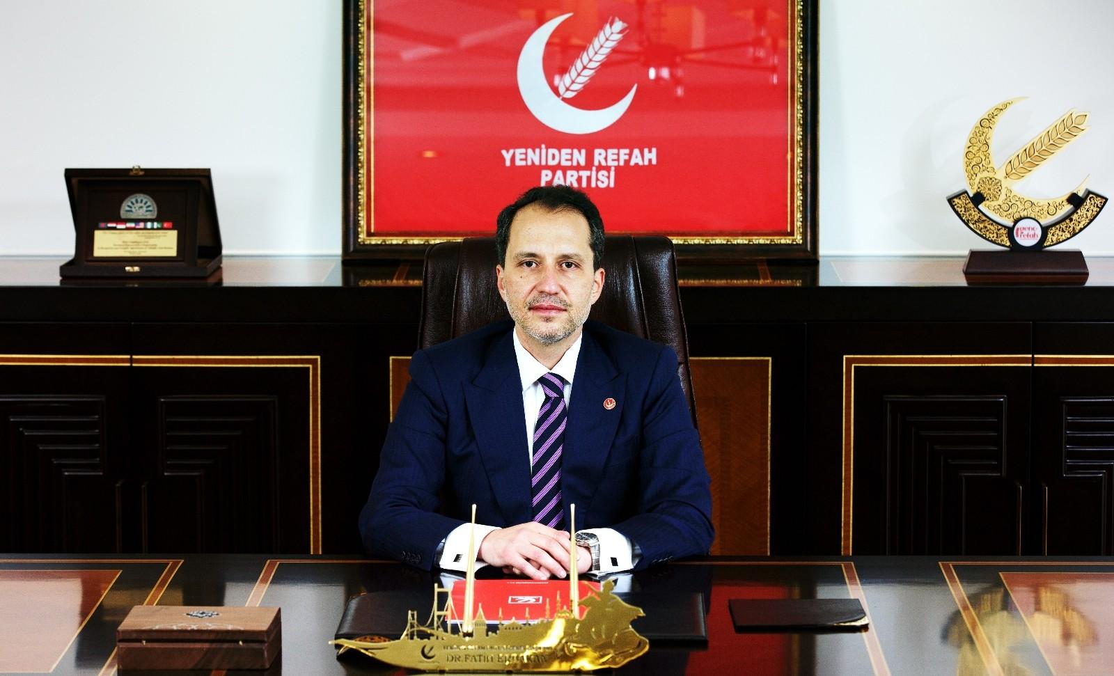 Yeniden Refah Partisi Lideri Erbakan: