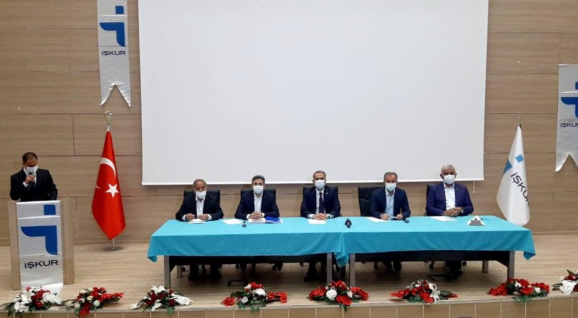 Adıyaman'da iş adamlarından 'ek istihdam' deklarasyonu