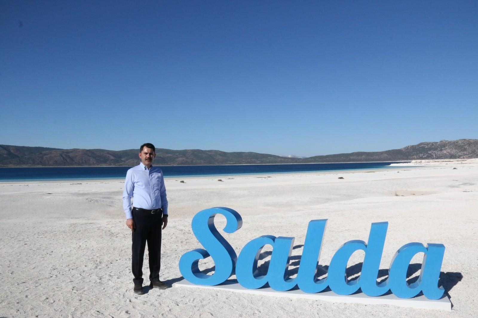 """Bakan Kurum: """"Salda Gölü projesinde sona geldik"""""""