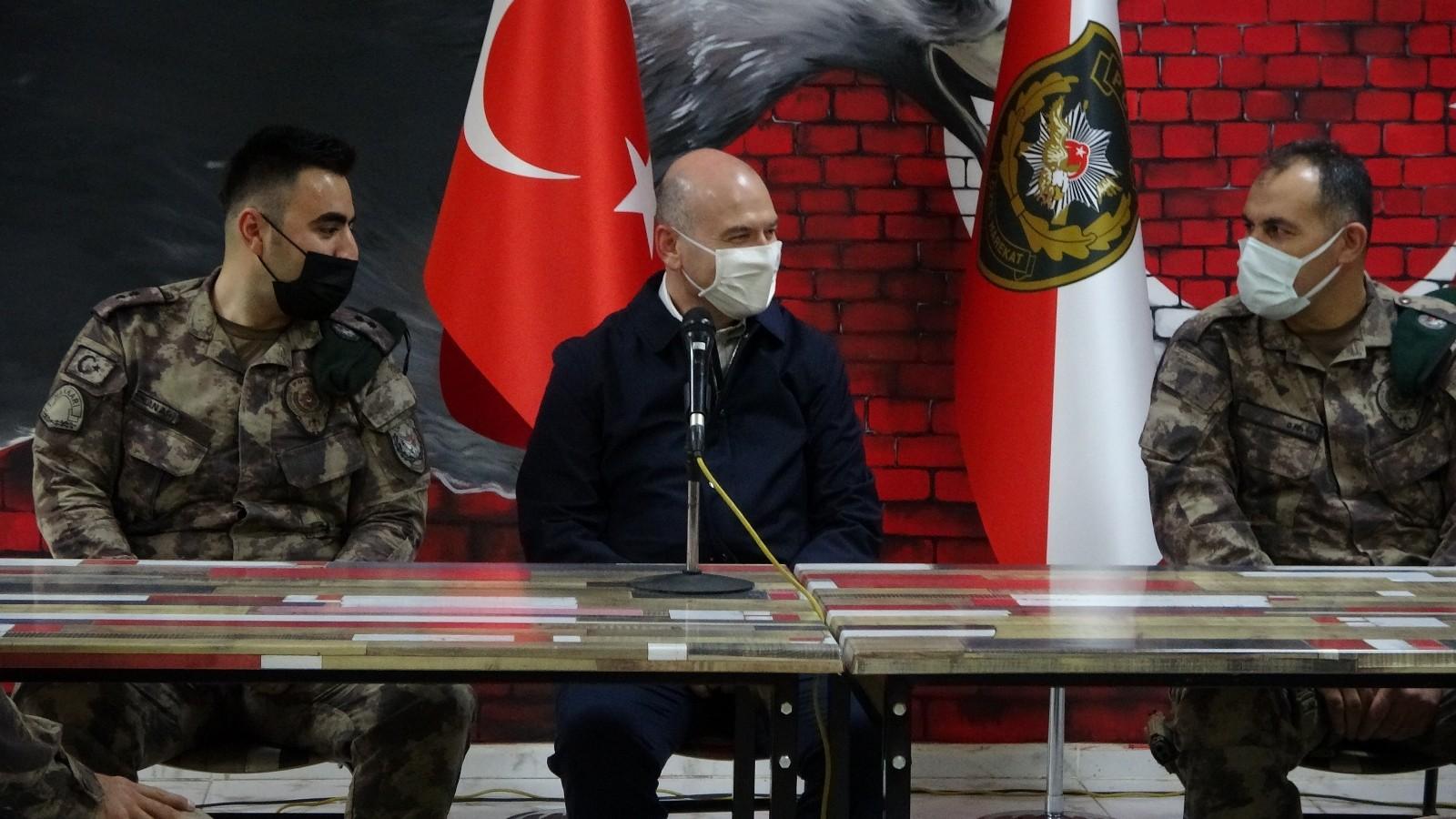 """Bakan Soylu; """"Çukurca'da 3 sivili katleden turuncu listedeki terörist öldürüldü"""""""