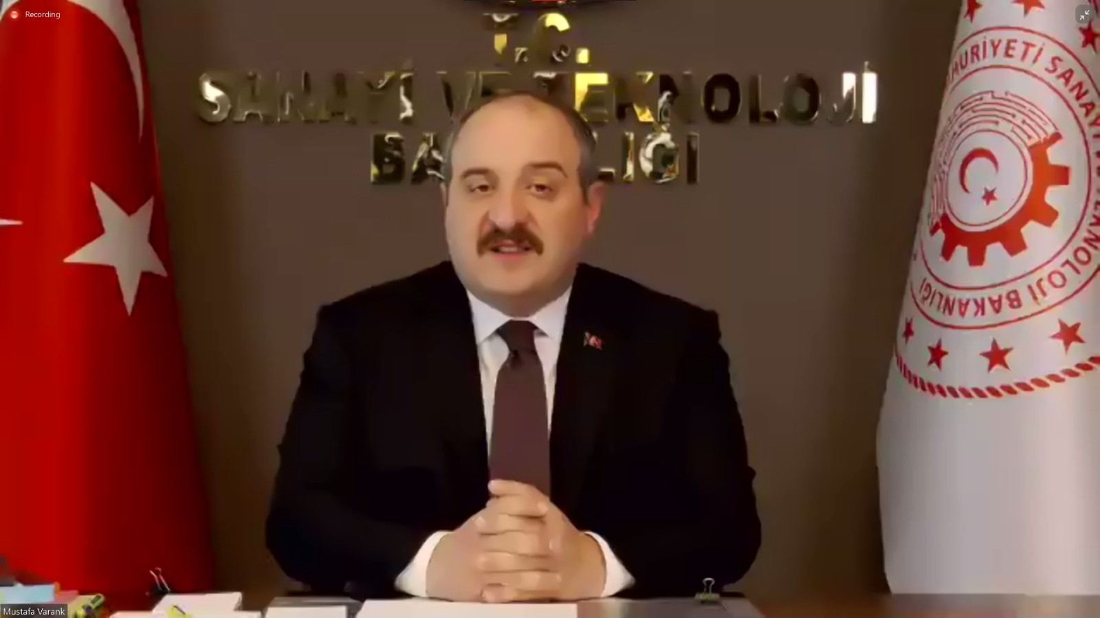"""Bakan Varank: """"Türkiye olarak salgınla mücadelede tüm dünyaya el uzatmaya devam edeceğiz"""""""