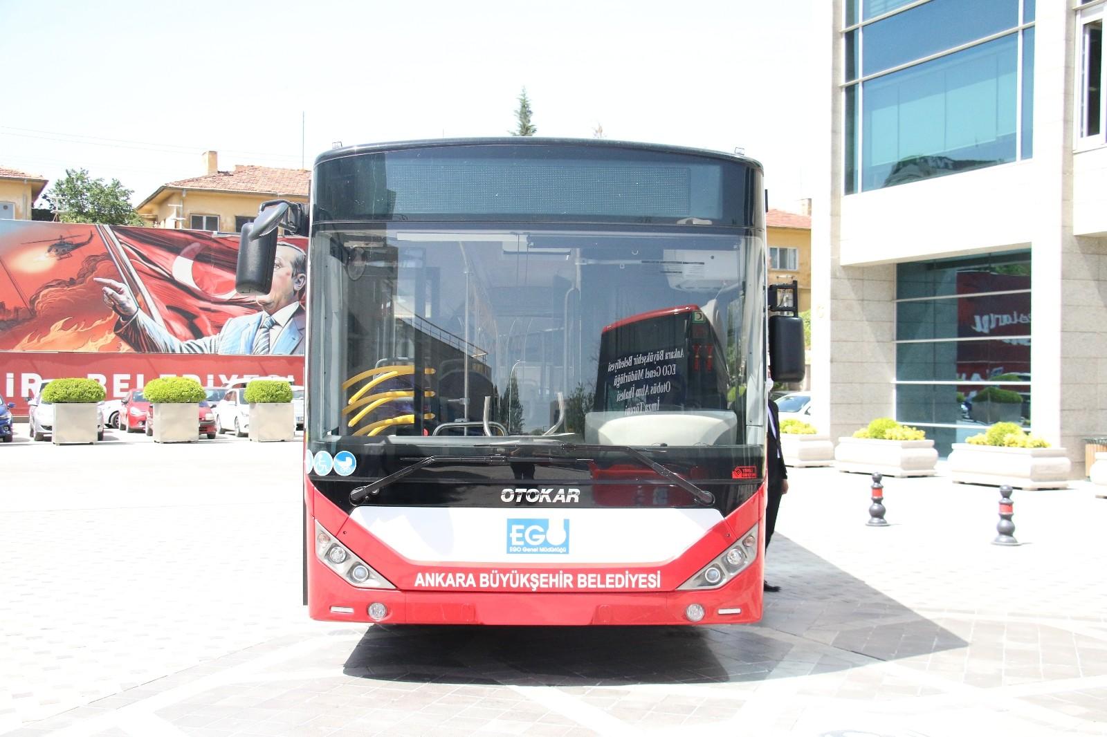 Başkentliler yeni otobüslerine kavuşuyor