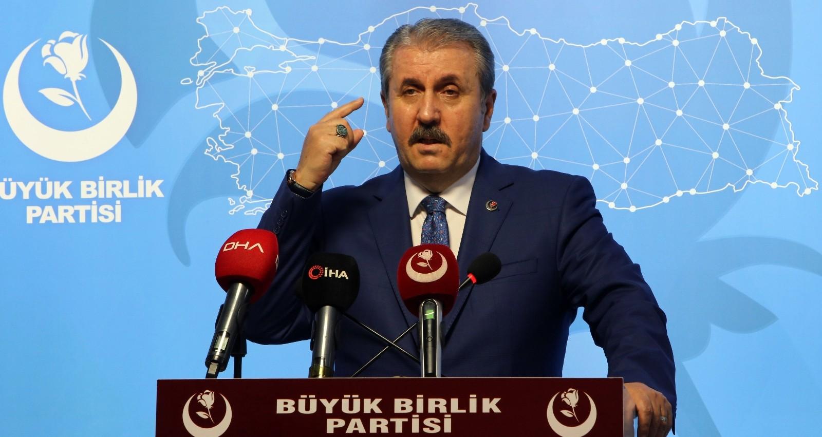 BBP Genel Başkanı Destici'den Bakan Soylu'ya destek