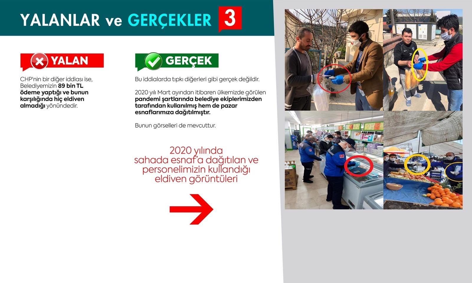CHP'nin iddialarını, başkan delilleriyle yalanladı