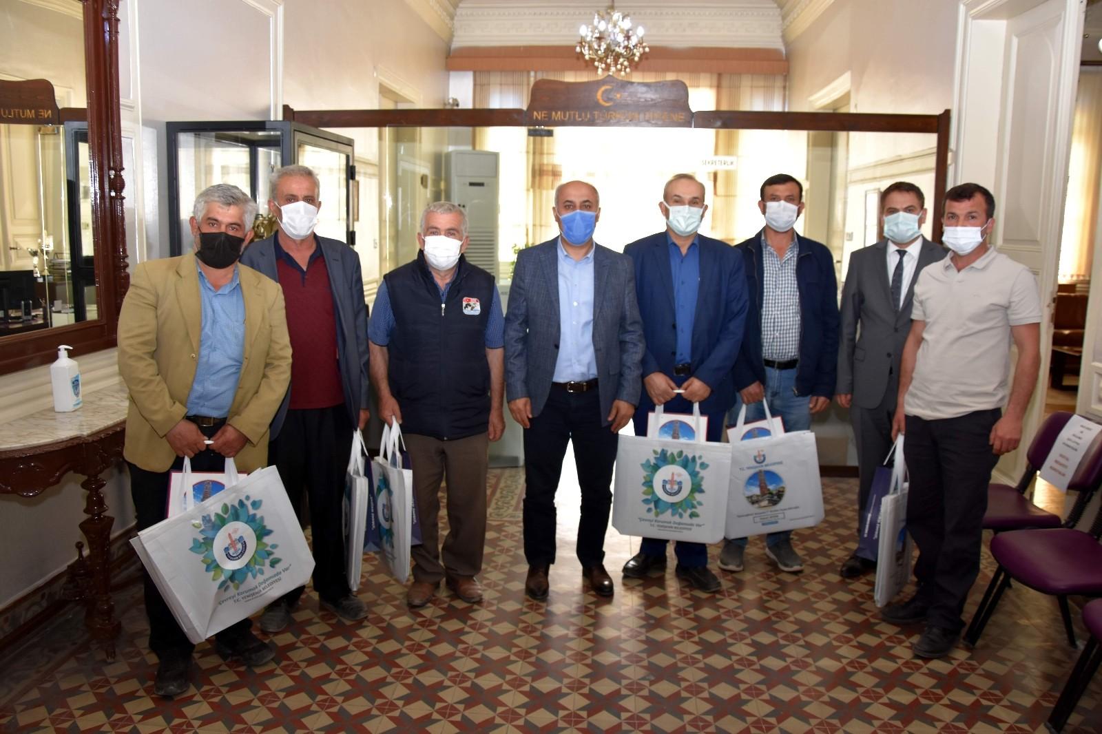 Çiftçinin pazarlama gücü artıyor…Yenişehir'de üreticinin yüzü gülüyor