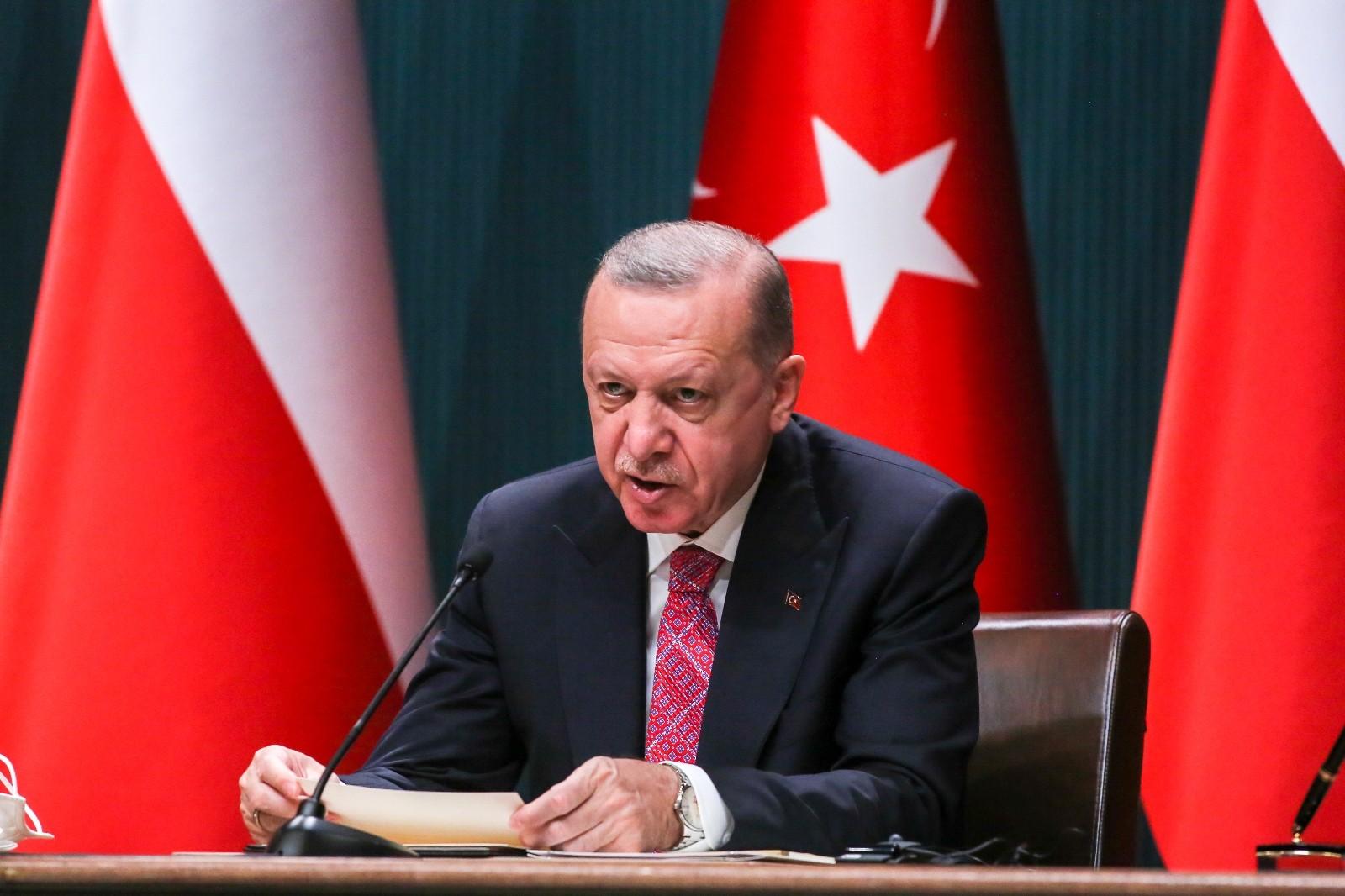 """Cumhurbaşkanı Erdoğan: """"Türkiye tarihinde ilk kez NATO ve AB üyesi bir ülkeye İHA ihraç edecektir"""""""