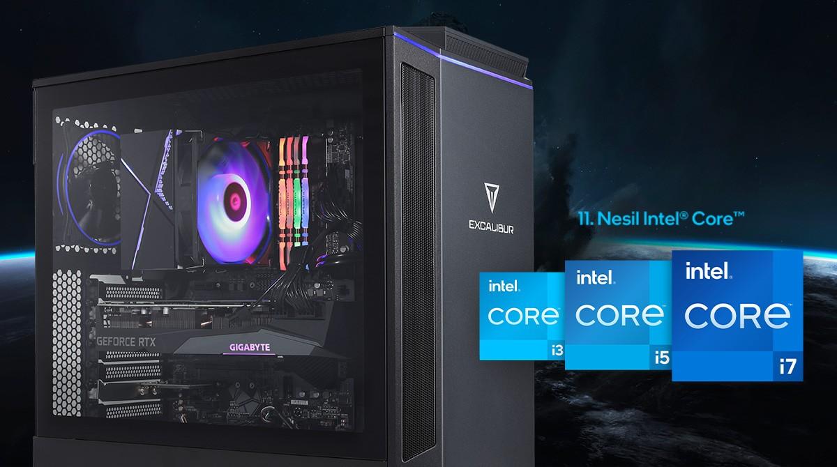 Performans avcılarının oyun bilgisayarı E600, 11. Nesil işlemciye sahip
