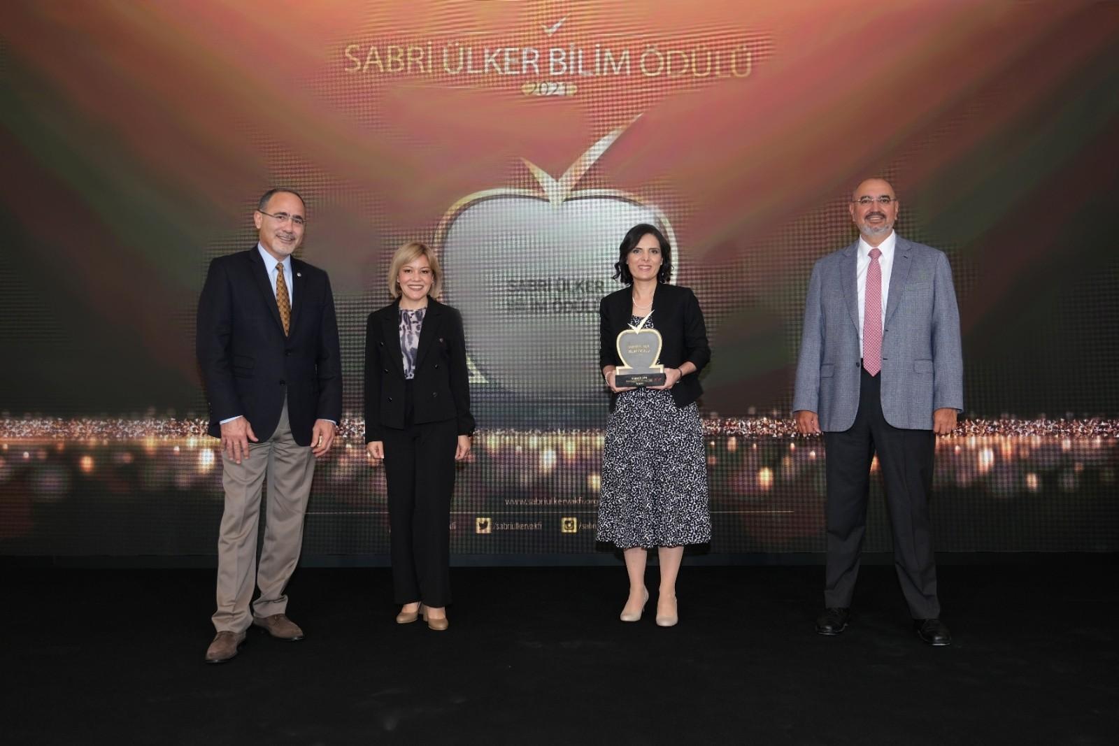 Sabri Ülker Bilim Ödülü kazananı Metabolizma ve Yaşam Sempozyumu'nda açıklandı