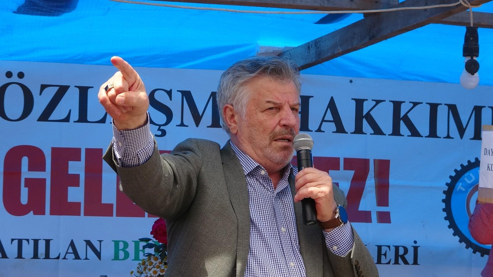 Tek Gıda İş Sendikası Genel Başkanı Mustafa Türkel, Fransız peynir devine Cargill'i hatırlattı