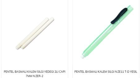 Kalem Silgi Tasarımları
